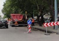Множество улични ремонти на различни места в Пловдив налагат промяна на маршрутите на градските автобуси. Снимка © Aspekti.info (архив)