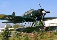 "Немския водосамолет Арадо-196 А3 ""Акула"" Снимка© http://www.airmuseum-bg.com"