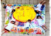 """Всяко дете може да нарисува човечето """"I Can Too"""" вкъщи и да донесе рисунката си на прaзника в """"Сердика център""""."""