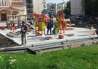 """Съоръжението е дарение от Петър Манджуков. Снимка Район """"Тракия"""""""