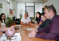 """Кметът на район """"Западен"""" Десислава Желязкова обсъди с партньорите реализирането на проекта """"Съседска градинска"""""""