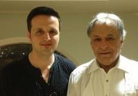 Румен Цветков е соловиолист в Испанската кралска опера във Валенсия, по лична покана на световноизвестния маестро Зубин Мета (вдясно).