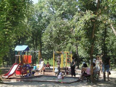 Детската площадка е пълна целодневно.  Снимка ©Aspekti.info