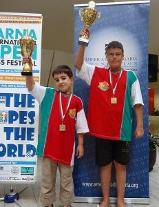 Виктор Боев и Георги Колев станаха шампиони сред много силна конкуренция на участници от цял свят.  Снимка Община Пловдив