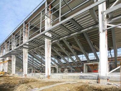 """Главният изпълнител на обекта - """"Джи Пи Груп"""" ООД, започна строителството на 14 октомври 2011 г.  Снимка gpgroupbg.com (архив)"""