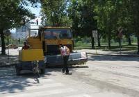 """Десислава Желязкова провери на място как върви работата. Снимка Район """"Западен"""""""