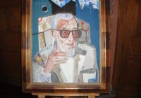 Портрет на Слона, рисуван от големия му приятел и блестящ художник Димитър Киров Снимка Данчо ЙОРДАНОВ