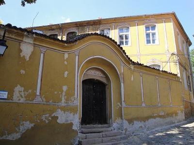 Сградата е построена специално за първата българска гимназия, създадена в Пловдив.  Снимка © Aspekti.info