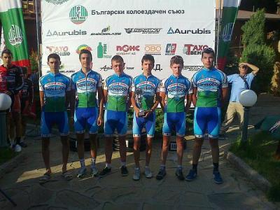 """Младите колоездачи на """"Цар Симеон 1898"""" имат достойни представители на Балканиадата.   Снимка """"Темпо нюз"""""""