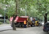 """Работата по булевард """"Вапцаров"""" се забавя заради подмяната на ВиК инфраструктурата. Снимка © Aspekti.info (архив)"""