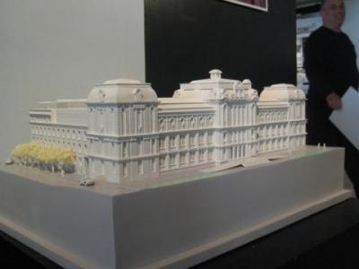 Проектът на арх. Янко Апостолов за реконструкцията на бившите сгради на Техническия университет бе избран с конкурс.  Снимка Архив