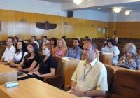 Участниците в семинара получиха ценна информация за възможностите за кандидатстване с проекти по оперативните програми на Европейския съюз. Снимка ОИЦ - Пловдив