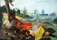 Толкова мащабно представяне на творчеството на Златю Бояджиев, при това заедно с още двама бележити български художници, не е правено от 1983 г.