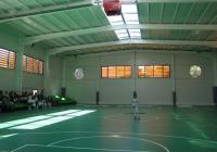 Спортното съоръжение e най-хубавата училищна зала в Пловдив. Снимка © Aspekti.info