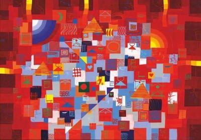 Пловдивският живописец често е сравняван с имена като Шагал, Кандински, Поляков.