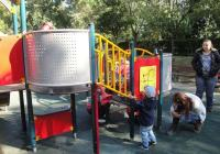 Съоръженията на площадката са избрани от родителите на децата. Снимка © Aspekti.info