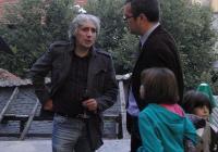 Ясен Гюзелев много рядко прави изложби, в Пловдив излага непоказвани досега рисунки. Снимка © Aspekti.info