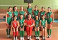 """Младите волейболистки постигнаха 4 последователни победи с класическото 3:0 по време на националния турнир за регион  """"Странджа"""",  Снимка """"Темпо нюз"""""""