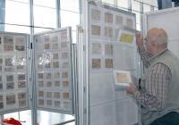 """Филателист подрежда експонати за изложението """"Булколекто 2013"""", което ще се състои от 25 до 27 октомври в Международен панаир Пловдив."""