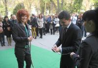 Почетният консул на Италия в Пловдив Джузепе де Франческо преряза лентата за откриването на 22-рото издание на престижния форум.