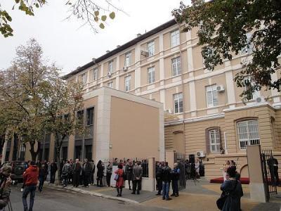С откриването на залата Факултетът по математика, информатика и информационни технологии отбелязва Деня на будителите - 1 ноември.