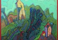 """Новата изложба на Слав Бакалов в галерия """"Възраждане"""" идва като глътка здрав балкански въздух."""