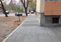 Нови тротоарни настилки вече има пред блокове 30, 31, 33, 34, 35, 36 и 37.