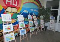 """Конкурсът беше организиран от СОУ """"Черноризец Храбър"""" и в него се включиха млади таланти от подготвителните групи за училище в Пловдив."""