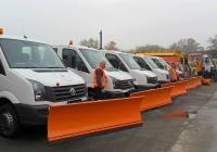 133 машини за зимното поддържане на Пловдив - 93 снегорини, 32 разпръсквачи и 8 челни товарачи.