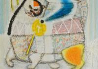 Изложбата на Йордан Калчев представлява фигуративна живопис, чиито композиции са скрепени от асоциативни елементи, които създават жанровата насоченост на дадената картина.