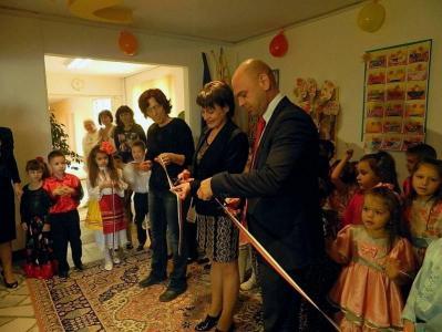 """Голям празник организираха малчуганите и техните преподаватели от ЦДГ """"Слънце""""  в район """"Тракия""""."""