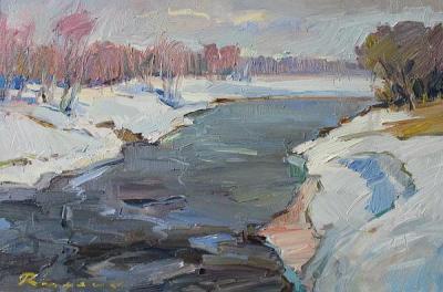 """Творецът показва своите """"Зимни миражи"""" в галерия """"Артур""""."""
