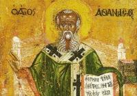 """Като архиепископ на Александрия Атанасий се включва активно в борбата срещу арианската ерес в християнството.  <p><a href=""""http://magiasmoni.blogspot.com"""">magiasmoni.blogspot.com</a></p>"""