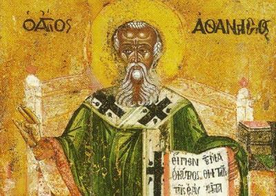 Като архиепископ на Александрия Атанасий се включва активно в борбата срещу арианската ерес в християнството.   magiasmoni.blogspot.com