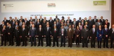 """Срещата бе част от глобален форум за храни и земеделие и се проведе в рамките на най-голямото световно земеделско изложение """"Зелена седмица"""" в Берлин."""