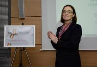 Белгийският посланик Н. Пр. Аник ван Калстер откри пловдивския офис на Белгийско-Българската асоциация Best2B на 2 октомври 2013 г.
