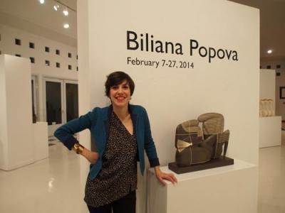 Биляна Попова представя самостоятелна изложба керамика в БурбанкКриейтивАртс Център (BurbankCreativeArtsCenter) в Лос Анджелис, Калифорния, от 7 до 27 февруари 2014 г.