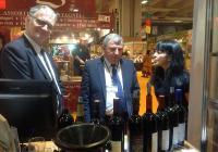 Проф. Димитър Греков по време на откриването на българския щанд на Международния салон по земеделие SIA 2014 в Париж.