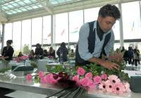 """Състезанието за флористи, организирано от холандското посолство,  за първи път ще напусне столицата и ще се проведе в Международен панаир Пловдив по време на изложението """"Цветна пролет 2014""""."""