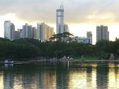 Изглед от Шънджън, Снимка от Уикипедия