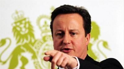 Премиерът Дейвид Камерън не пропуска да изтъкне подкрепата на Великобритания за закона.  Снимка neverojatno.wordpress.com