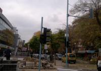 Кръстовището е затворено за движение повече от месец. Снимка: Aspekti.info