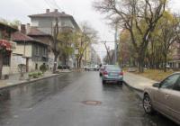 """Старата паважна настилка на """"Македония"""" вече е заменена с асфалт. Снимка: Aspekti.info"""