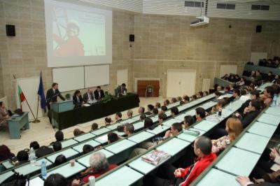 Церемонията по подписването се състоя в Аулата на университета в Пловдив.