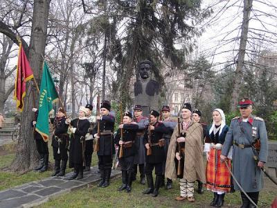 Поклонението ще е пред паметника на капитан Бураго.  Снимка: Aspekti.info (архив)