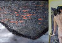 """Изложбата е замислена и изградена върху силата на контраста Снимка: Галерия """"Възраждане"""""""