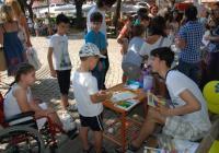 Децата ще могат да четат и да се забавляват в Цар-Симеоновата градина. Снимка: Детски отдел на НБ (архив)