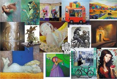 """Посетителите ще си припомнят минали изложби и ще се насладят на любими автори и картини.  Снимка: Галерия """"Възраждане"""""""