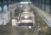Близо 6000 тона е годишният капацитет на тази линия за производство на БОПП фолио в предприятието. Снимка plastchim-t.com
