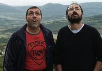 Христо Мутафчиев и Стефан Вълдобрев в сцена от филма.